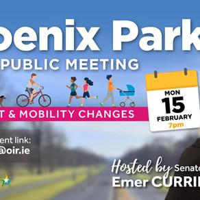 PUBLIC MEETING re: Phoenix Park