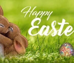 Happy Easter folks - enjoy the sunshine!