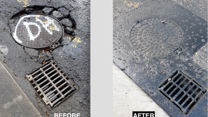 Fixes - Potholes and posters