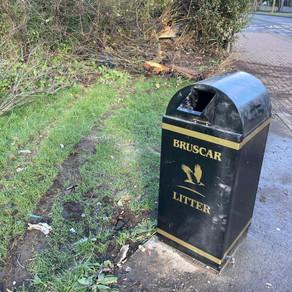 Speedy service - replacement bin