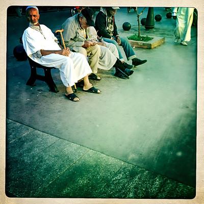 Walking Marrakech