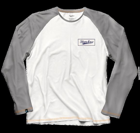 Camiseta 3/4 âncora