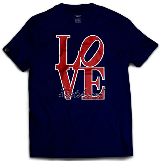 Camiseta Love Skateboard