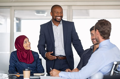 Entrepreneurs, partners and islamic woma