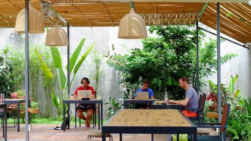 Outdoor Patio Coworking