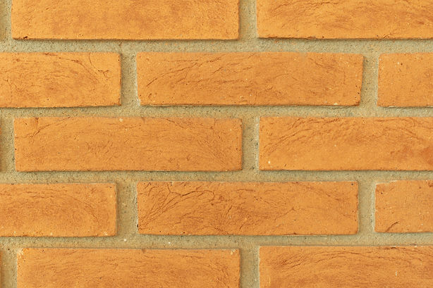 apparent clay brick texture as a backgro