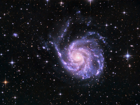 "The Pinwheel-Galaxy as ""Astrophoto of the week"""