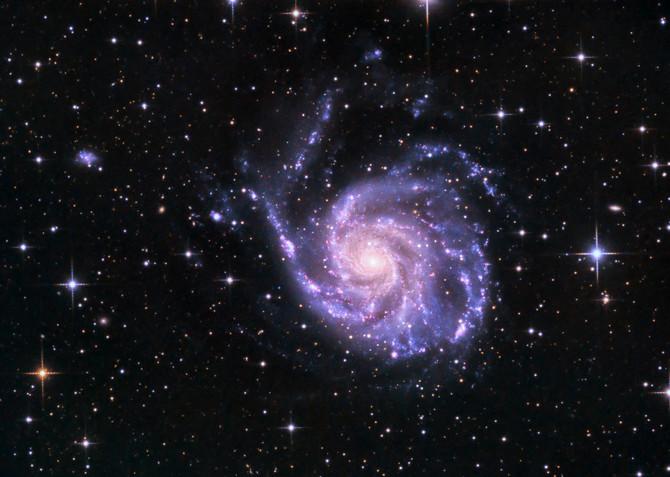 "The Pinwheel-Galaxy as ""Astrophoto of the week"""