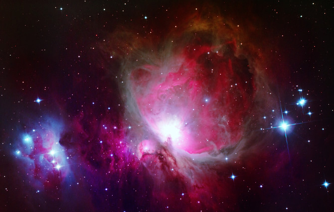 Cold nights under Orion, the Hunter  - Part II: The Great Orion Nebula