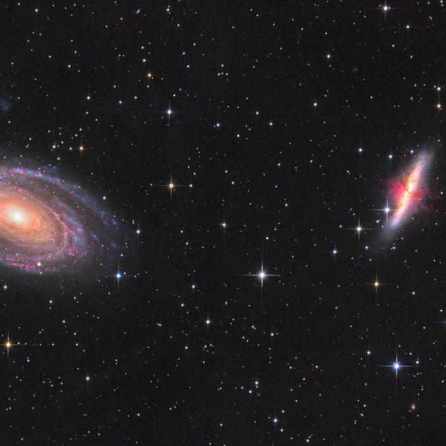 Bode´s and Cigar Galaxies