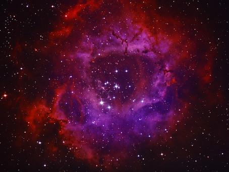 "Rosette Nebula - a ""semi"" BiColor Image"