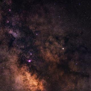 Milky Way Center - 70mm