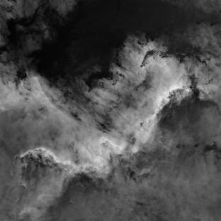 Cygnus Wall H-alpha