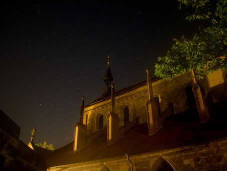 Perseids and Deep Sky Objects in Maulbronn Monastery