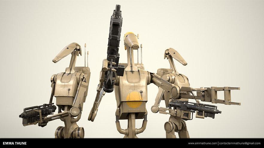 Emma Thune Star Wars Battle Droid