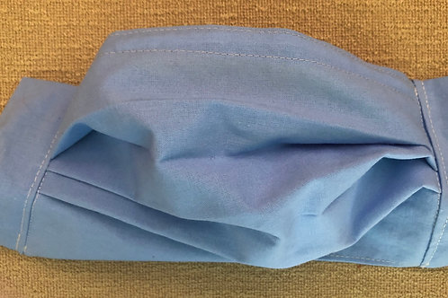 Plain light blue