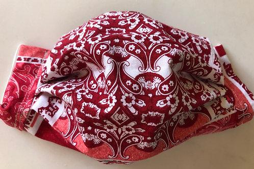 Red bandana pattern