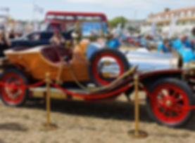 A reproduction car