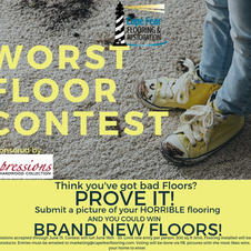 Cape Fear Flooring Contest Flyer