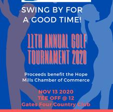 Hope Mills Chamber Golf Tournament Flyer