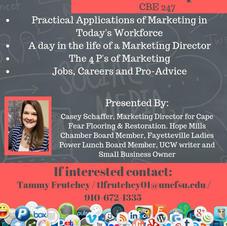 Marketing Presentation at FSU