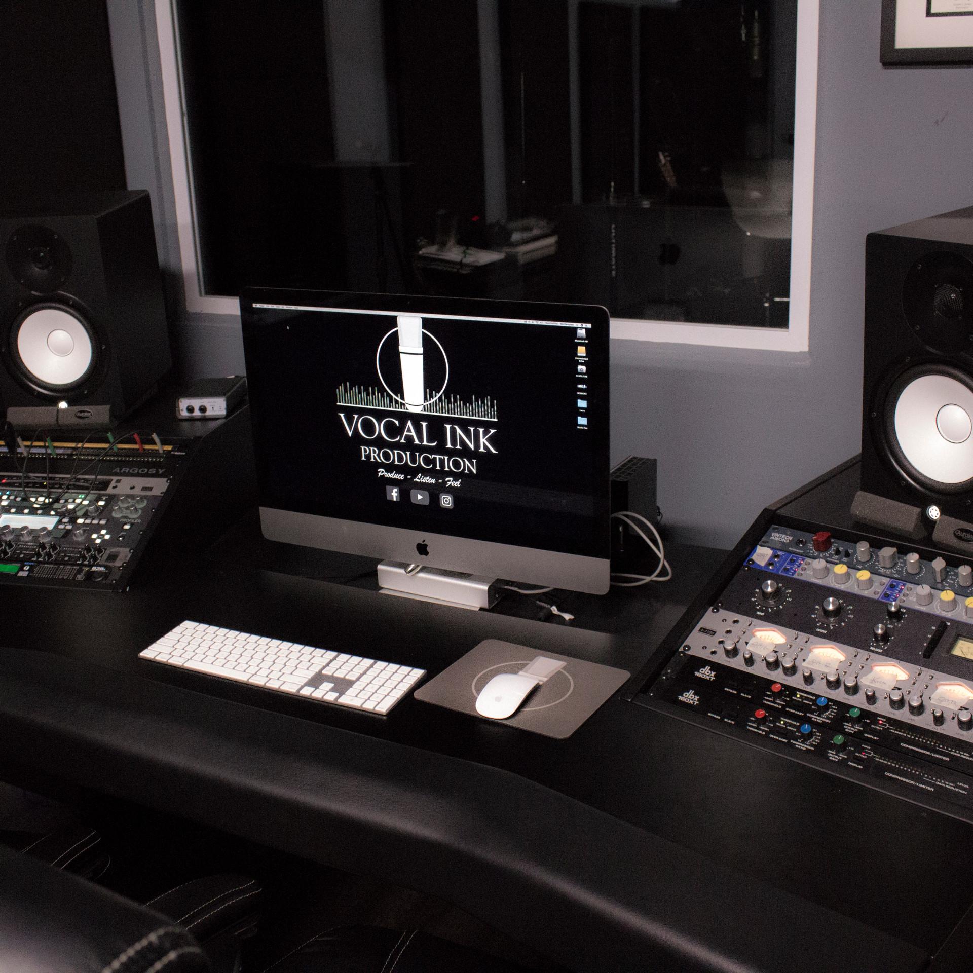 Main Control Room Desk