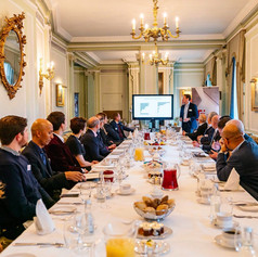 LTC Breakfast 'Netflix for Cars?' with Felix Leuschner at the Royal Automobile Club
