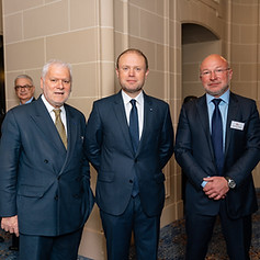 LTC Breakfast with The Hon. Dr. Joseph Muscat, Prime Minister of Malta at Royal Automobile Club