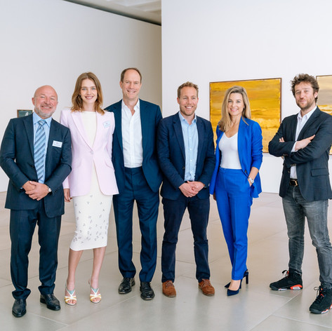 LTC Breakfast 'The Beauty of Art and Technology' with Natalia Vodianova and Harry Blain at Blain|Southern