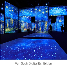 Art Meets Tech: Van Gogh Alive Exhibition and Reception
