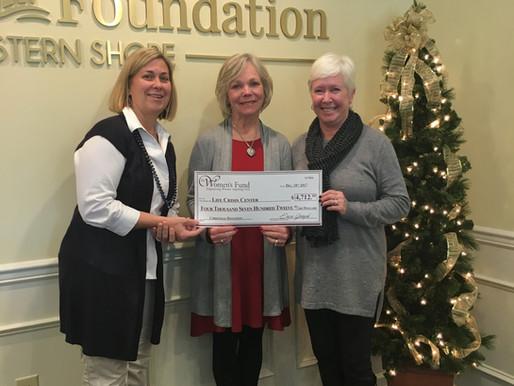 Women's Fund raises $4,700 for Life Crisis Center