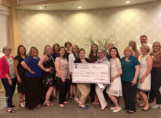 Women's Fund Awards $40,000 in Grants