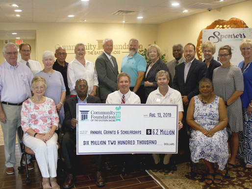 Community Foundation celebrates record grant making year and national recognition