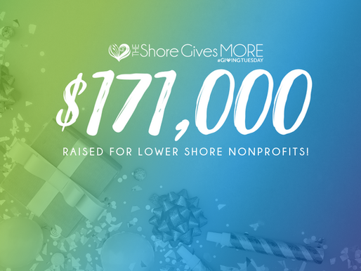 Shore Gives More Raises $171,000 in 24 Hour Event