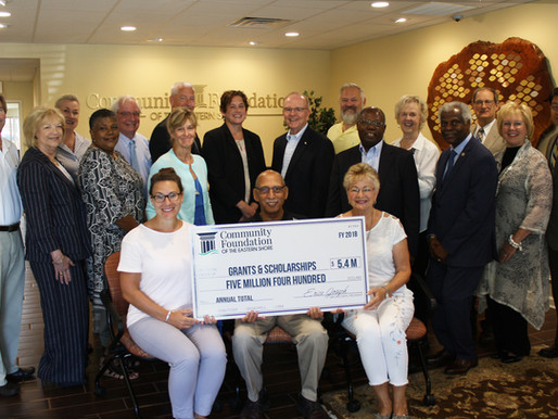 Community Foundation Celebrates $5.4 Million in Annual Grant Making