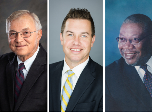 Barber, Lewis, and Mitchell join Community Foundation Board of Directors