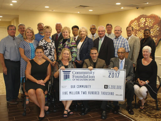Community Foundation Celebrates $5.2 Million in Annual Grant Making - Annual Meeting November 3rd