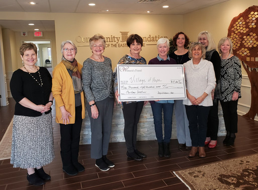 Women's Fund raises $9,800 for the Village of Hope