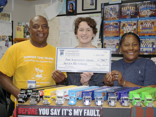 Foundation Mini-Grant Assists Salvation Army