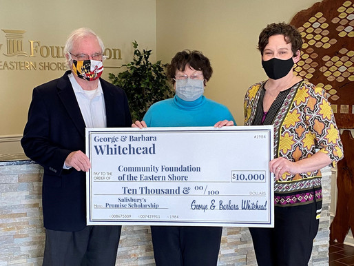 Whiteheads grow scholarship to honor Nonprofit Leadership Program accomplishments