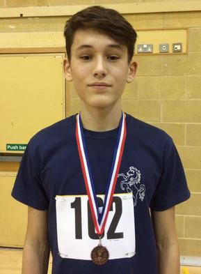 Regional Sportshall Success for Connor