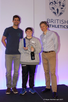 Further Recognition for Thanet AC's Chloe Williams at the British Officials Conference
