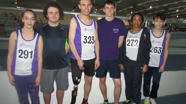 Thanet AC In 'Medal Heaven' at County Championships