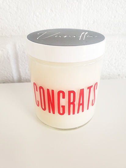 Custom Message Candle