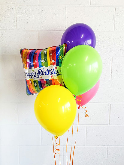 "18"" Foil Message Balloon - Helium Filled"