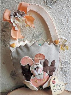Uovo coniglietto porta dolci
