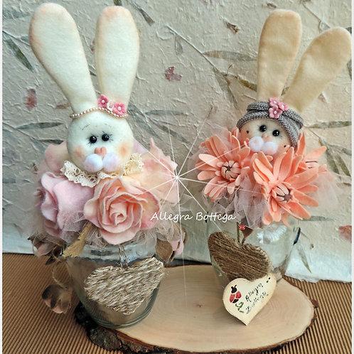 Kit coniglietto sul vaso