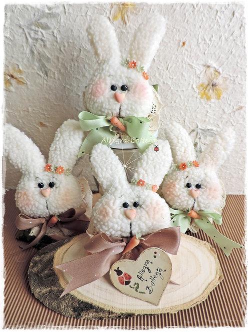 Kit coniglietti porta tovagliolo