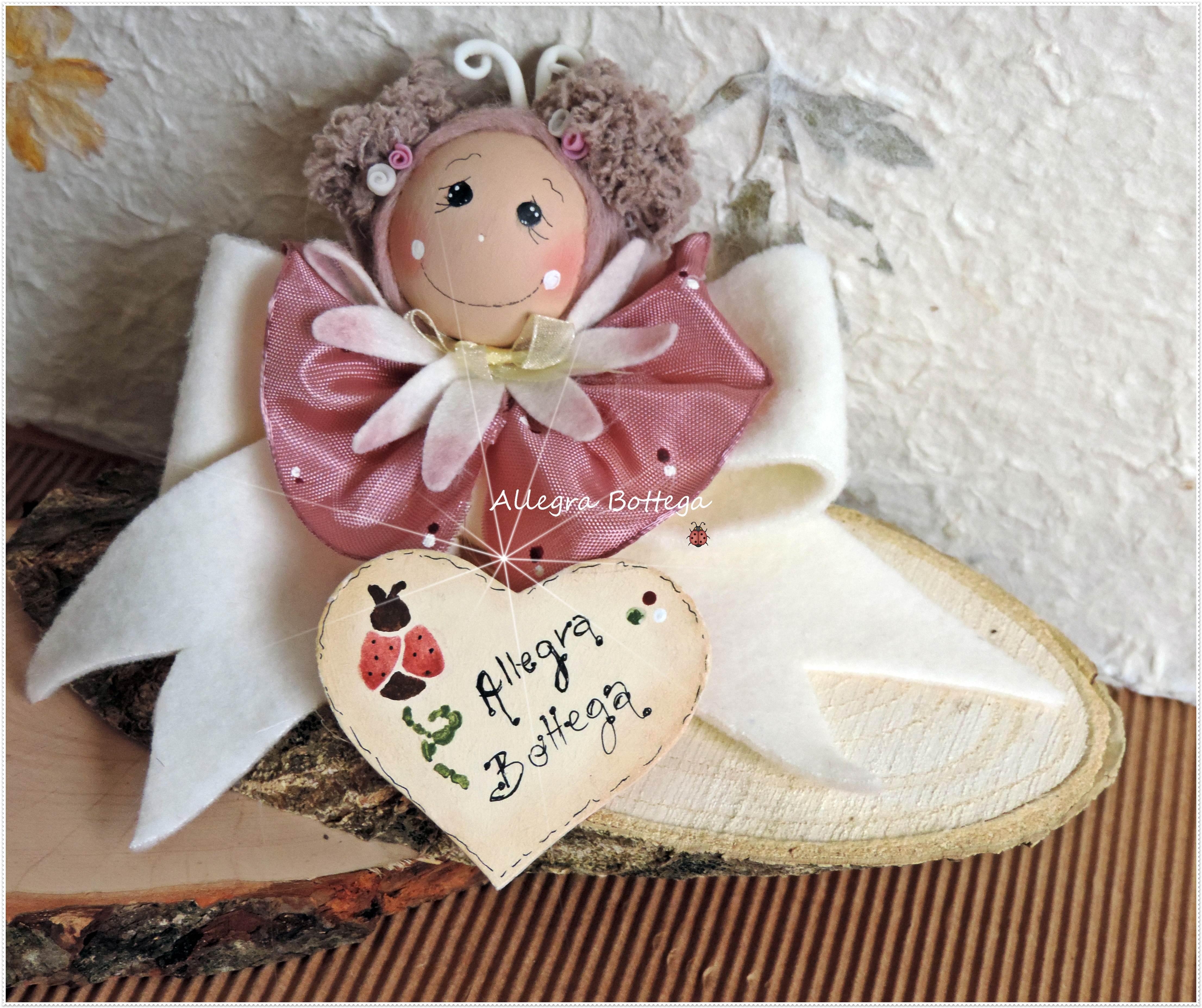 Fiocchettina rosa antico
