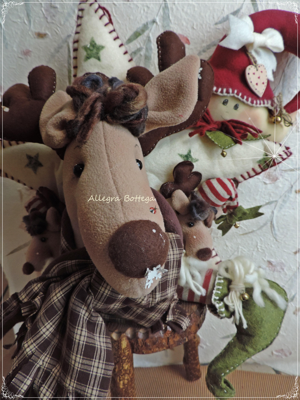 Fuoriporta renne e elfo